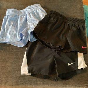 3 pairs of Nike Shorts